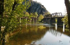 Harpers Ferry, WV - Railroad Bridges to Maryland Heights