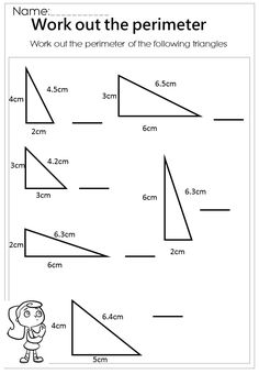 Area of triangles. | Math | Pinterest | Triangles, Worksheets and Math