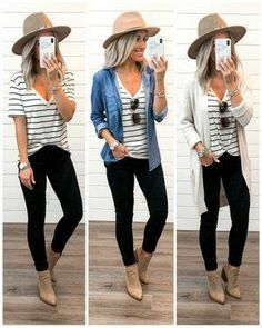Fall Fashion Outfits, Casual Fall Outfits, Fall Winter Outfits, Look Fashion, Spring Outfits, Autumn Fashion, Womens Fashion, Curvy Fashion, High Fashion