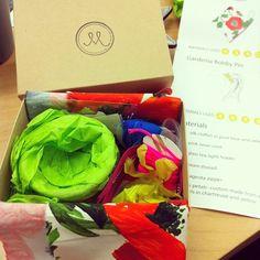 @jennafain got her For the Makers box! via Instagram