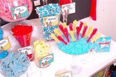 Super Hero Candy Buffet