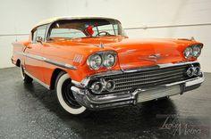 Chevrolet : Impala Coupe 1958 CHEVROLET IMPALA, 34 - http://www.legendaryfinds.com/chevrolet-impala-coupe-1958-chevrolet-impala-34/
