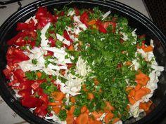 Τουρσί Πολύχρωμο – ηχωμαγειρέματα Salsa, Mexican, Ethnic Recipes, Food, Essen, Salsa Music, Meals, Yemek, Mexicans
