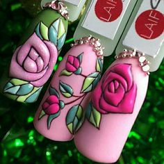 Super Cute Ideas for Summer Nail Art - Nailschick 3d Nails, Cute Nails, Pretty Nails, Beauty And The Beast Nails, Beauty Nails, Floral Nail Art, Arte Floral, Gel Nail Art, Acrylic Nails