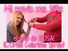 L'Oréal Colorista Spray Pinkhair funciona? - Mi novio me tiñe el pelo de...
