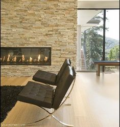 Image Result For Modern Contemporay Fireplaces