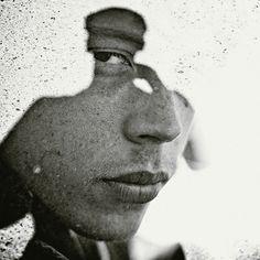 Multiple Exposure Portraits by Christoffer Relander, via Behance