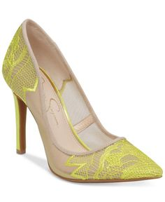 89.00$  Buy now - http://viyxe.justgood.pw/vig/item.php?t=gohp9wm36276 - Camba Lace Pointed-Toe Pumps