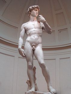 Michelangelo's David in the Gallery of the Accademia di Belle Arti in Florence: http://www.georama.com/blog/travel-after-virginia-tech/