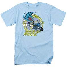 Batgirl Motorcycle Men's T Shirt