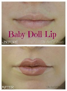 The Art Of Beauty ~ Baby Doll Lip Tutorial | Also useful for Winfred's lips from Hocus Pocus.