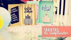 tarjetas de cumpleaños - YouTube