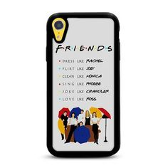 Be like Friends iPhone XR Case | Rowlingcase Cool Iphone Cases, Cute Phone Cases, Iphone Phone Cases, Friends Phone Case, Aesthetic Phone Case, Cute Cases, Friends Tv Show, New Phones, Apple Products