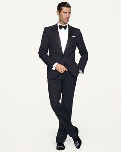 Anthony Peak Lapel Tuxedo - Black Label US/Black_Label/Men/Suits - RalphLauren.com