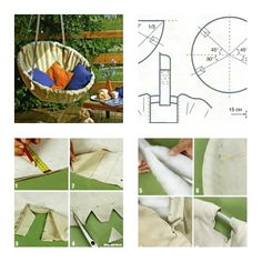 How to Make Hammock Chair step by step DIY tutorial instructions, How to, how to make, step by step, picture tutorials, diy instructions, craft, do it yourself