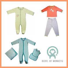 win a Newborn Set (size 0-3 or 3-6 months) from Beryl of Monkeys!