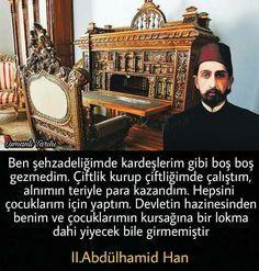 Abdülhamid Han Wtf Fun Facts, Ottoman Empire, Comebacks, Red And White, Islam, Religion, Life, Sultan, Historia