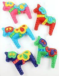 Swedish Dala horses!