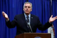 Virginia Governor Terry McAuliffe during a news conference - McAuliffe moves to restore voting rights