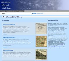 Arkansas History Commission online digital archive!  It can accessed through their website and blog and here:  http://cdm16790.contentdm.oclc.org/cdm/