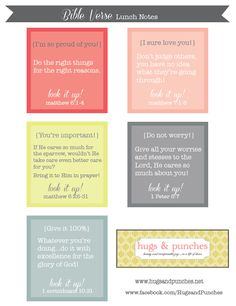 Need some great {{free}} printables for the 1st day of school? ...paper straw flags, sign, & Bible verse lunchbox notes...