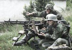 MG34 team, Leibstandarte Adolf Hitler