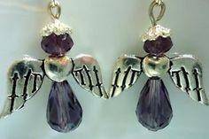 Angel Earrings for Christmas...