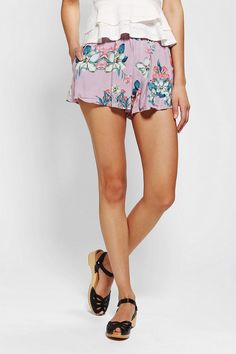 Insight Culotte Short  may '13 urban outfitters.  tropical botanical