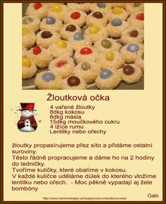 Czech Recipes, Sweets, Eat, Breakfast, Christmas, Food, Morning Coffee, Xmas, Goodies