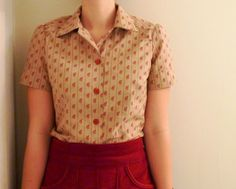 four square walls: my first sewn shirt, ever