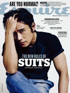 Lee Byung Hun – Esquire Magazine