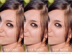 Skin Smoothing Tips for Photo Editing via iHeartFaces.com Photography Community