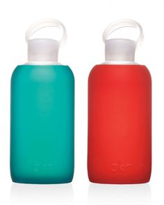 These silicone-wrapped glass vessels are so cute, she'll look forward to hydrating.