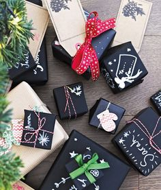Chalk pens, wedding decorations for sale, christmas gift wrapping, handmade Gift Wrapping Paper, Christmas Gift Wrapping, Christmas Gifts, Wrapping Ideas, Christmas Ideas, Christmas Christmas, Chalkboard Pens, Chalk Pens, Wedding Decorations For Sale