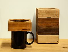 カナダ発の木製ドリッパー、木の香りがする珈琲