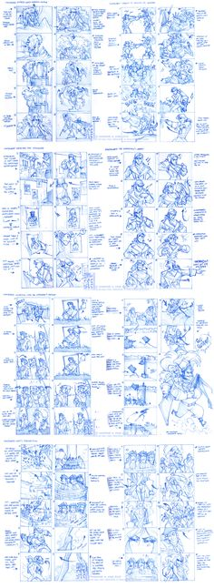 This is really detailed for a storyboard sketch. Some artists can really set the bar with his or her design.