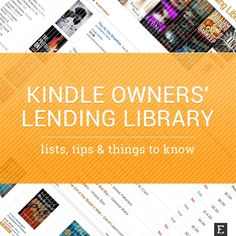 Kindle Owners' Lending Library - available books and other things to know about the feature of Amazon Prime addressed to Kindle owners.
