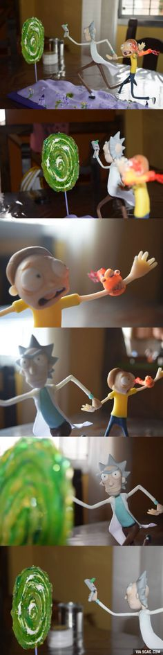 My friend's sister made a Rick & Morty sculpture. She says it's not that good, time to raise that mood up a little!