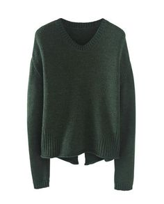 Love the little slit in the back!  Simone Sweater by Wrap