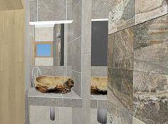 Expresive dramatic bathroom Bathroom Lighting, Bathrooms, Mirror, Furniture, Home Decor, Bathroom Light Fittings, Bathroom Vanity Lighting, Decoration Home, Bathroom