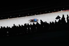Team USA makes a run through the Luge Relay on the Sochi 2014 Winter Olympics (Photograph by Alex Livesey/Getty Photographs) The 2 sports may solely appear Luge, Team Usa, Winter Olympics, Olympic Games, Racing, Sports, Monitor, Photographs, Arm