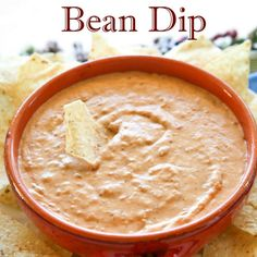 Best Bean Dip The Best Bean Dip Ever - perfect dip recipe for the super bowl party.The Best Bean Dip Ever - perfect dip recipe for the super bowl party. Bean Dip Recipes, Snack Recipes, Cooking Recipes, Frito Bean Dip Recipe, Recipes For Dips, Sauce Dips, Best Beans, Football Food, Appetizer Dips