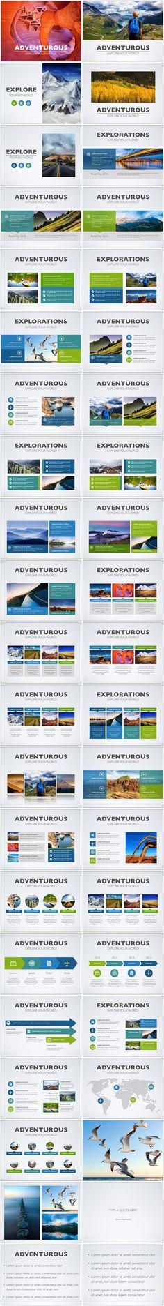 Adventurous Keynote — Author Ready Templates