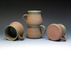 David Leach Lowerdown Pottery Mugs Stoneware Mugs by MugsMostly