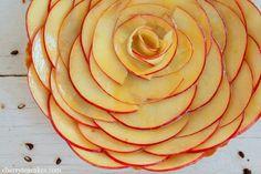 Apple Rosette Crostata by cherryteacakes #Apple #Crostata #cherryteacakes