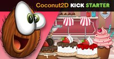 Coconut2D in KickStarter. https://www.kickstarter.com/projects/156778458/coconut2d-game-editor-ide