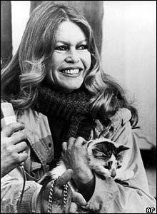 Brigitte Bardot and cats - Google Search