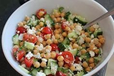 Avocado Chickpea Salad with Chili Lime Dressing Recipe by Tasty Chili Lime Dressing Recipe, Good Food, Yummy Food, Tasty, Vegetarian Recipes, Healthy Recipes, How To Cook Quinoa, Summer Salads, Food Inspiration