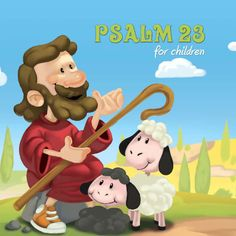 Book: Psalm 23 for children