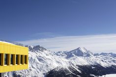 Mathis Food Restaurant St Moritz - the view is amazing
